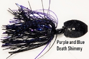 Shimmy Jig - Black/Other - Purple and Blue Death