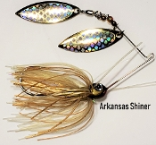STC Natural Spinnerbaits - Arkansas Shiner