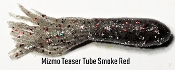 Mizmo - Teaser Tubes - 2 3/4 in - Smoke Red