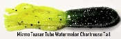 Mizmo - Teaser Tubes - 2 3/4 in - Watermelon Chart Tail