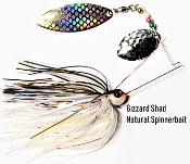 STC Natural Spinnerbaits - Gizzard Shad