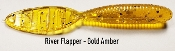 STC River Flapper - Gold Amber