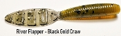 STC River Flapper - Black Gold Craw
